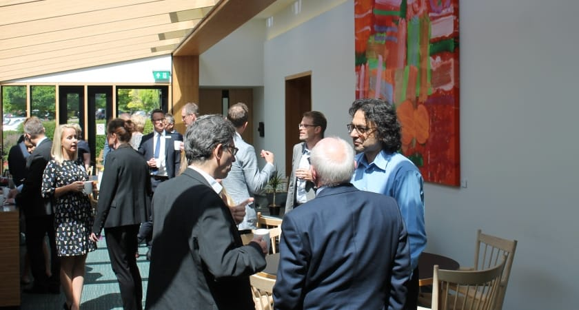 Photo of people on an Executive Education programme at the Møller Centre