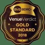 Picture of the Venue Verdict Gold Standard icon for 2018