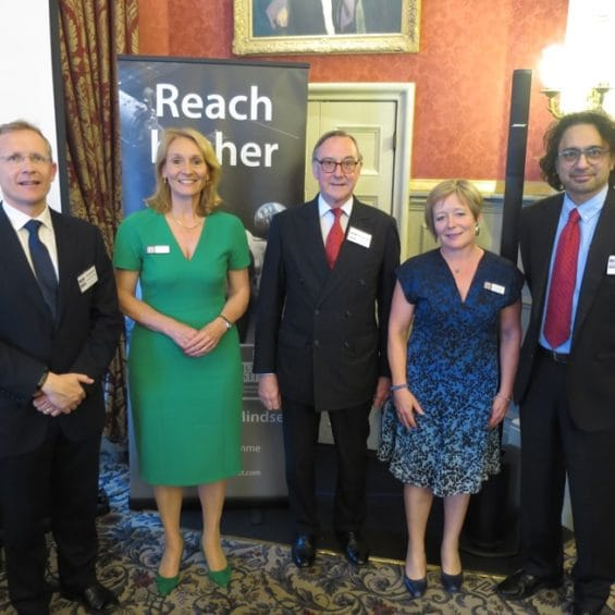 Picture from the Churchill College Alumni Leadership insight