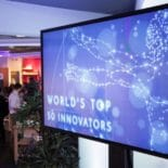 Picture from the worlds top 50 innovators event