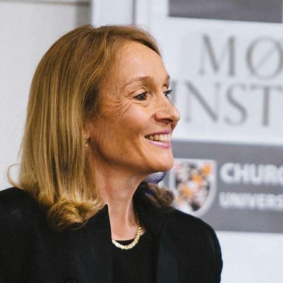 Picture of Gillian Secrett at Moller Institute