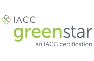 Picture of IACC green star logo