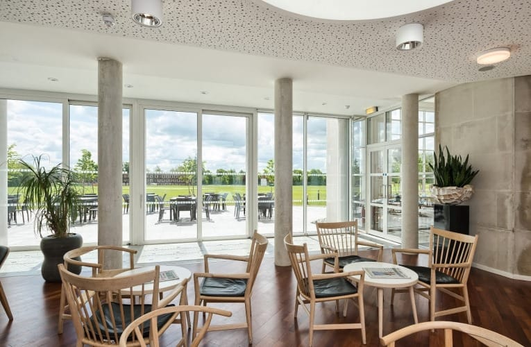 Picture of the Hans J/ Wegner Lounge at Moller Institute