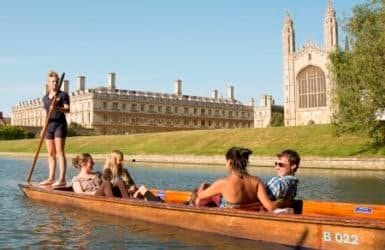 Leisure-packages - Punting in Cambridge