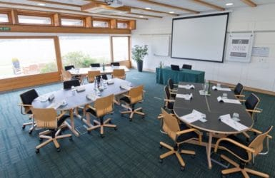Picture of a meeting room at Moller Institute