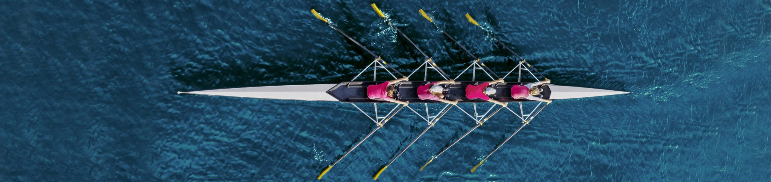 Picture of a rowing team