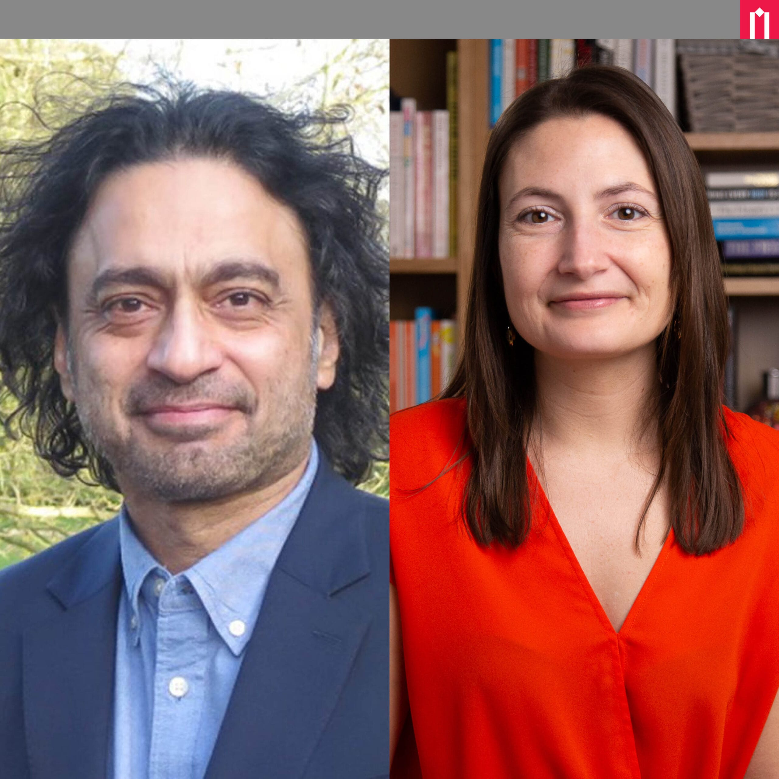 Picture of Sudhanshu Palsule and Amy Brann at Moller Institute