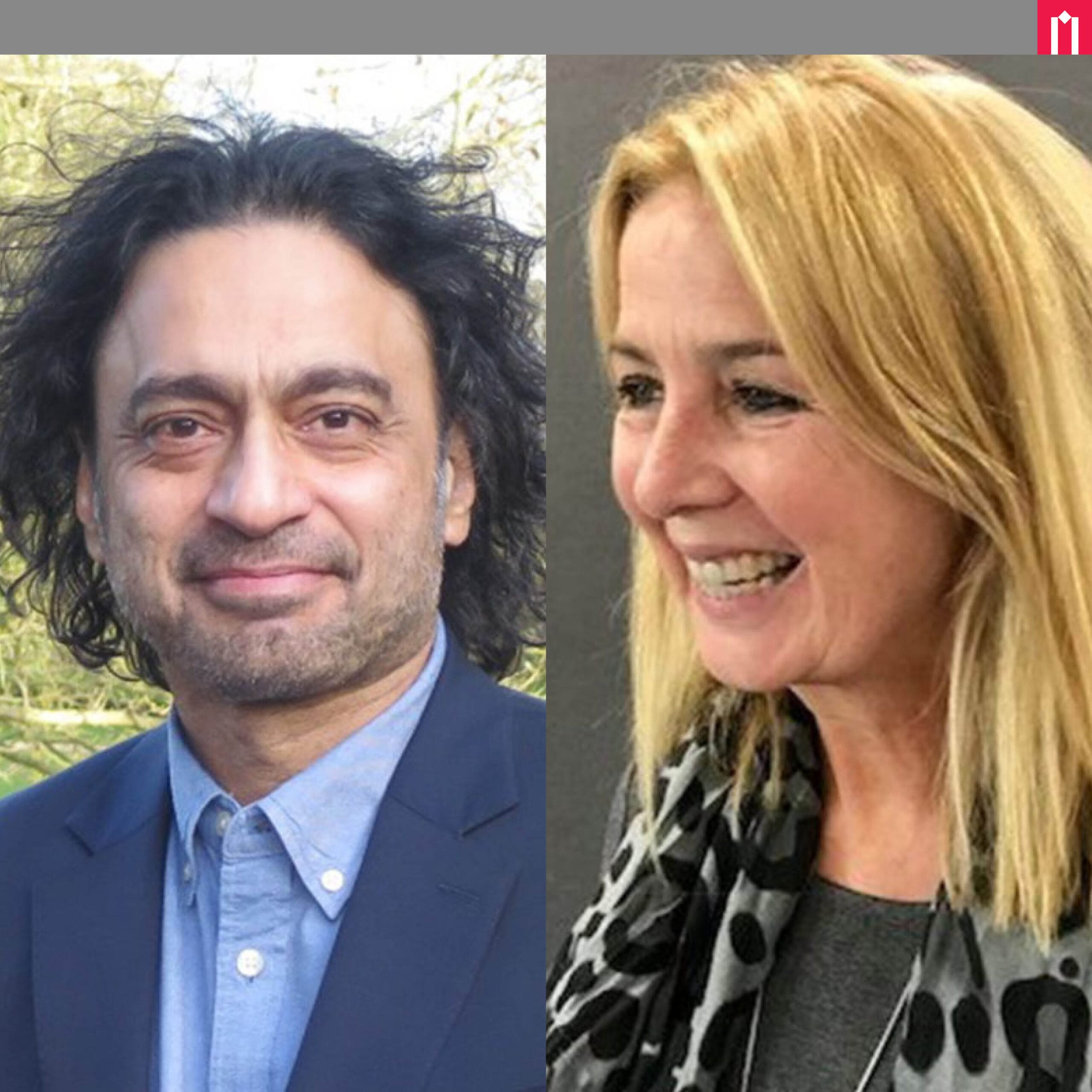 Picture of Sudhanshu Palsule and Ruth Berry at Moller Institute