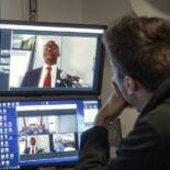 Picture of a video conference at Moller Institute