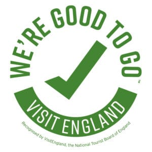Picture of the Visit Britain We're Good to Go logo