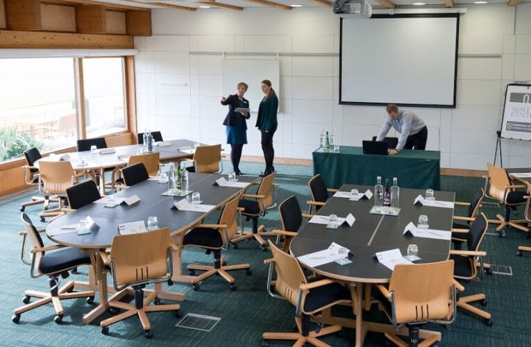 Picture of møller meeting room