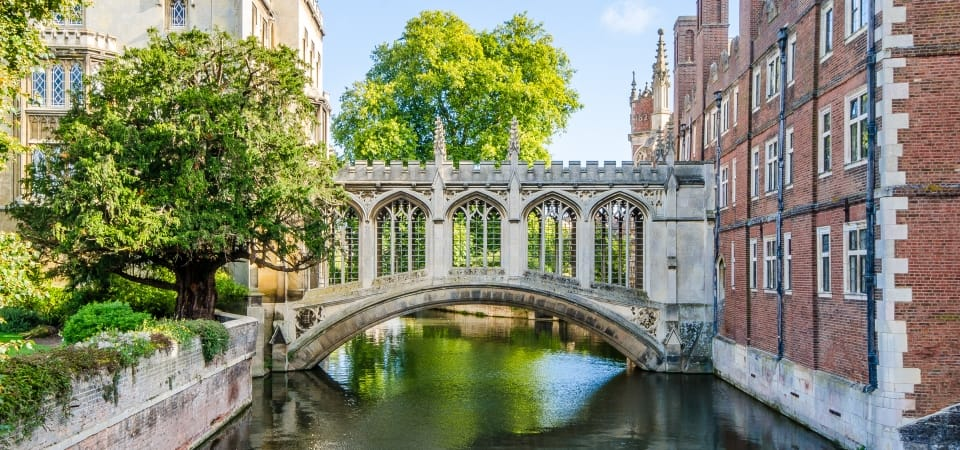 Picture of the Bridge of Sighs, Cambridge