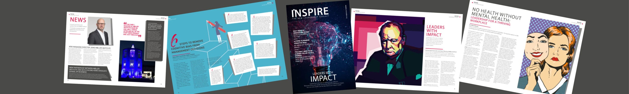 Picture of Inspire magazine by Moller Institute