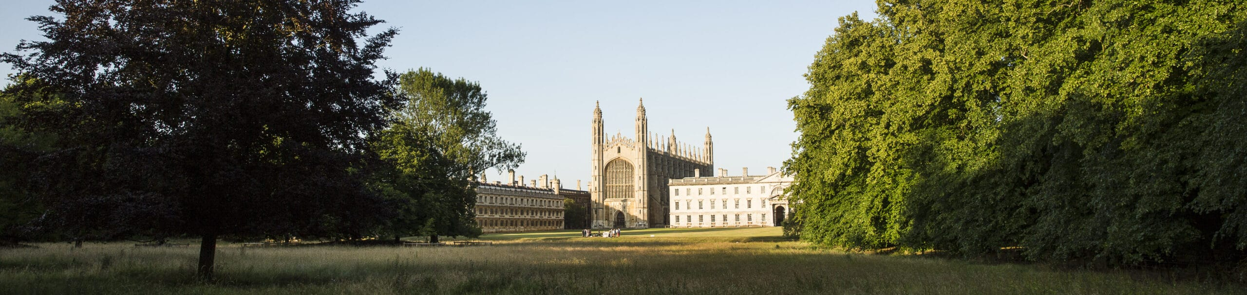 Picture of the back of kings college