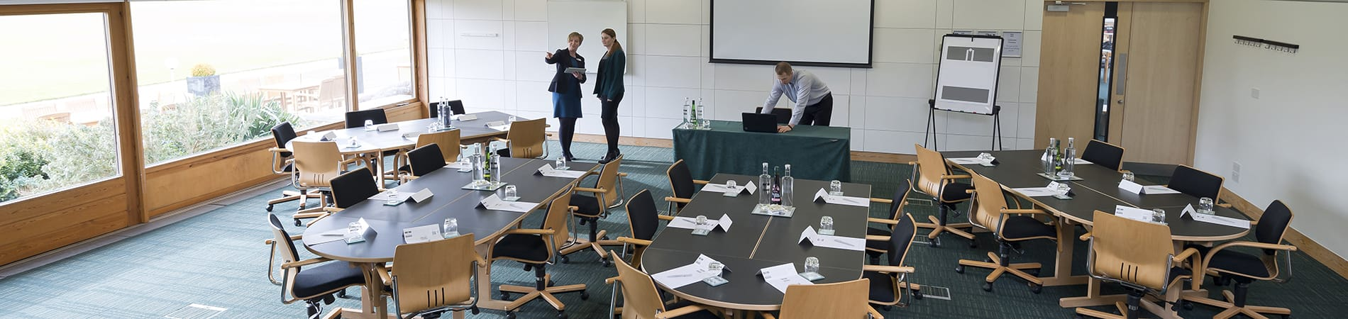 meeting room at moller institute