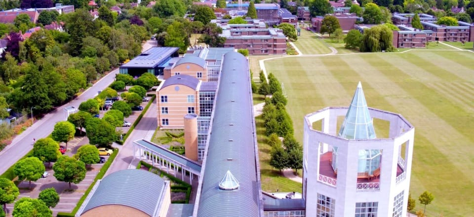 Picture of Moller Institute from the sky