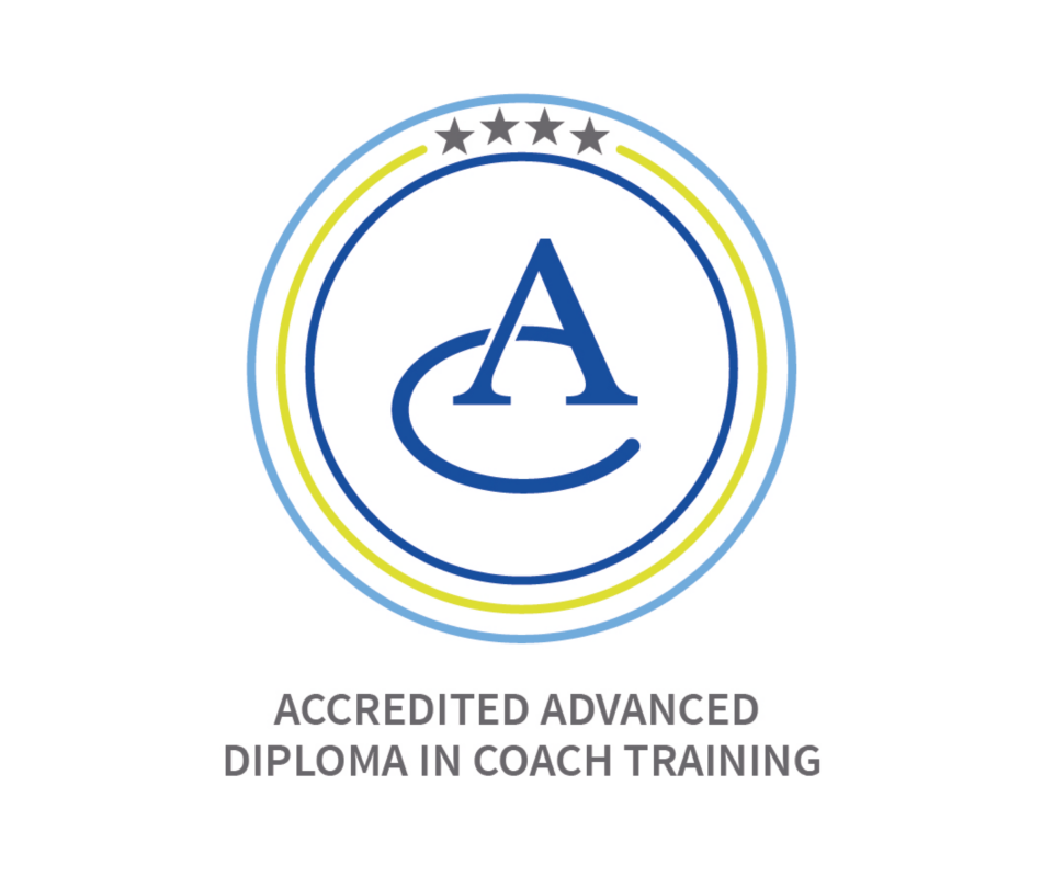 Picture of accredited advanced diploma in coach training logo - executive coaching programme