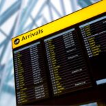 ARRIVALS BOARD PICTURE