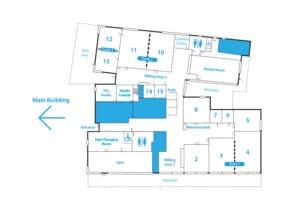 study centre floor plan