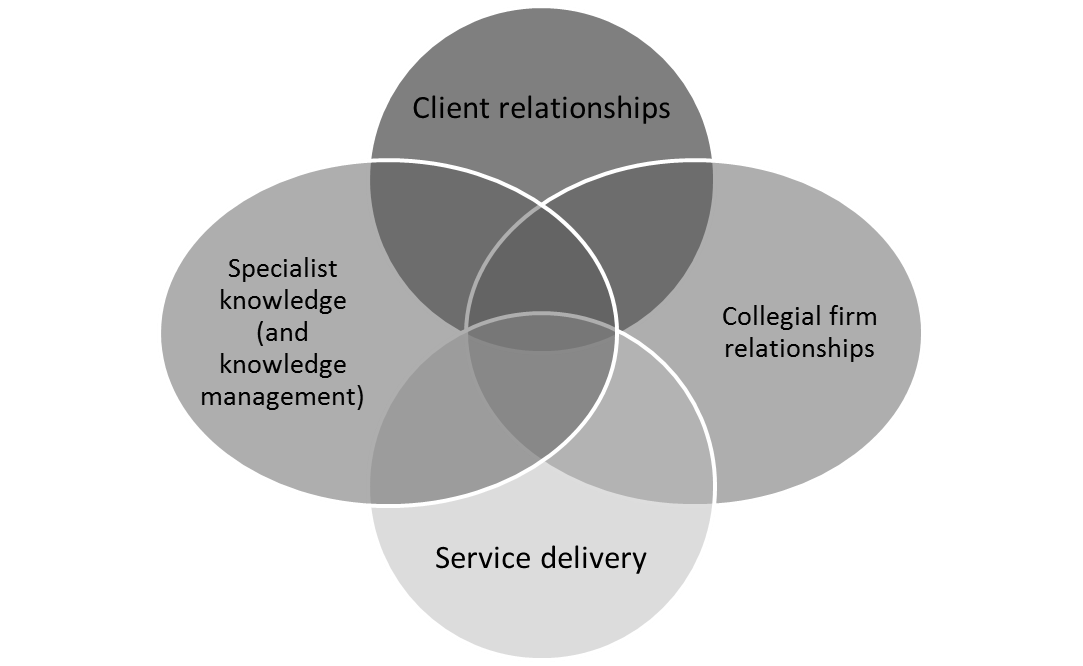 Elements of core competence in a PSF