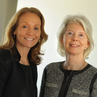 Gillian Secrett and Ane Mærsk Mc-Kinney Uggla