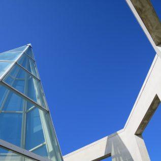the Møller Centre tower