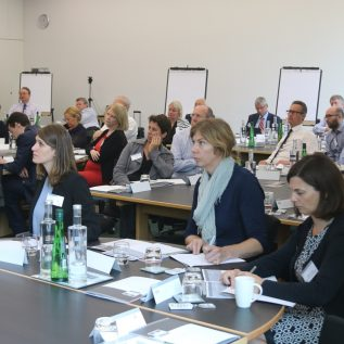 delegates at an open programme