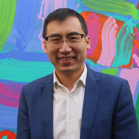 Picture of Andy Zhang at the Moller Institute