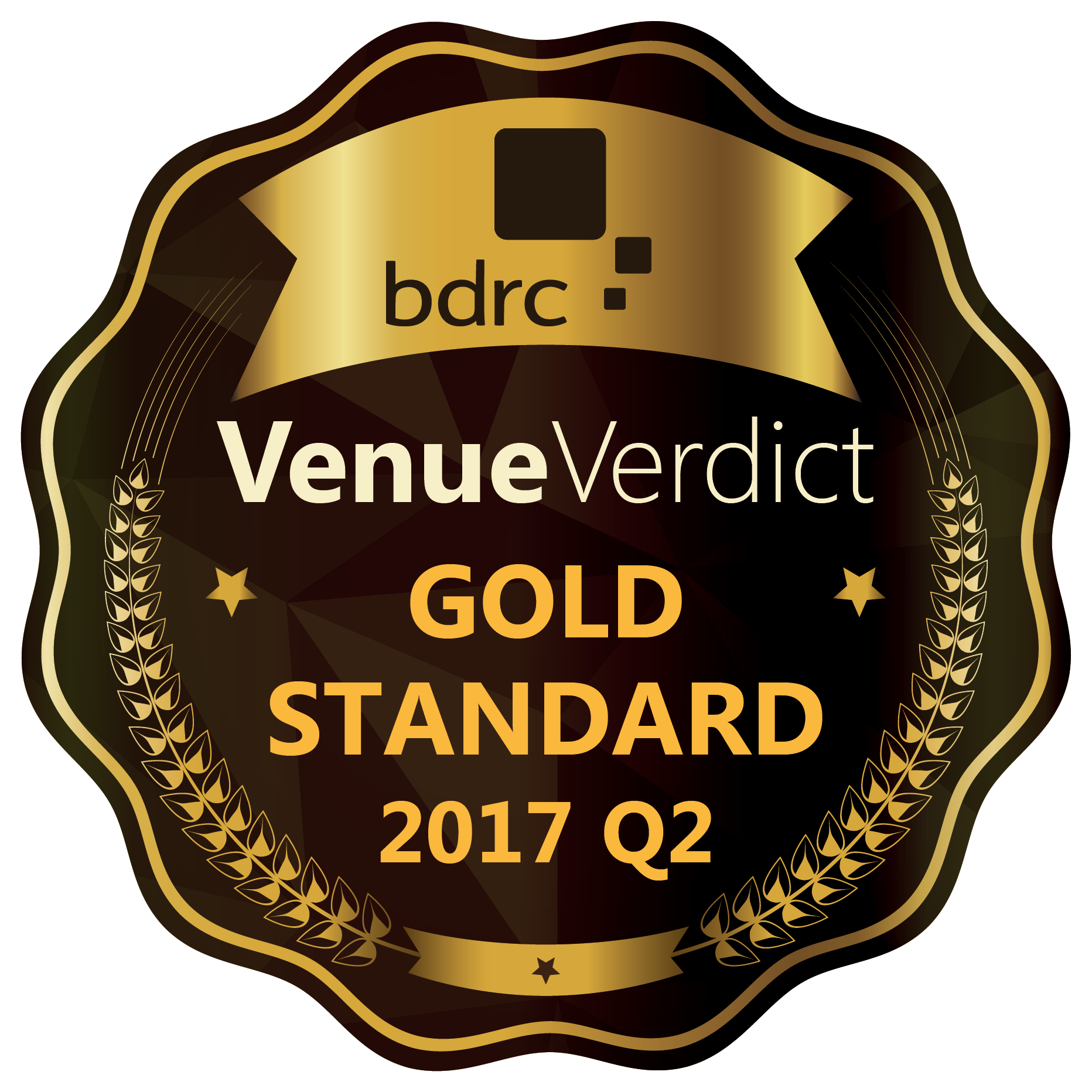 Venue Verdict Gold Standard Logo