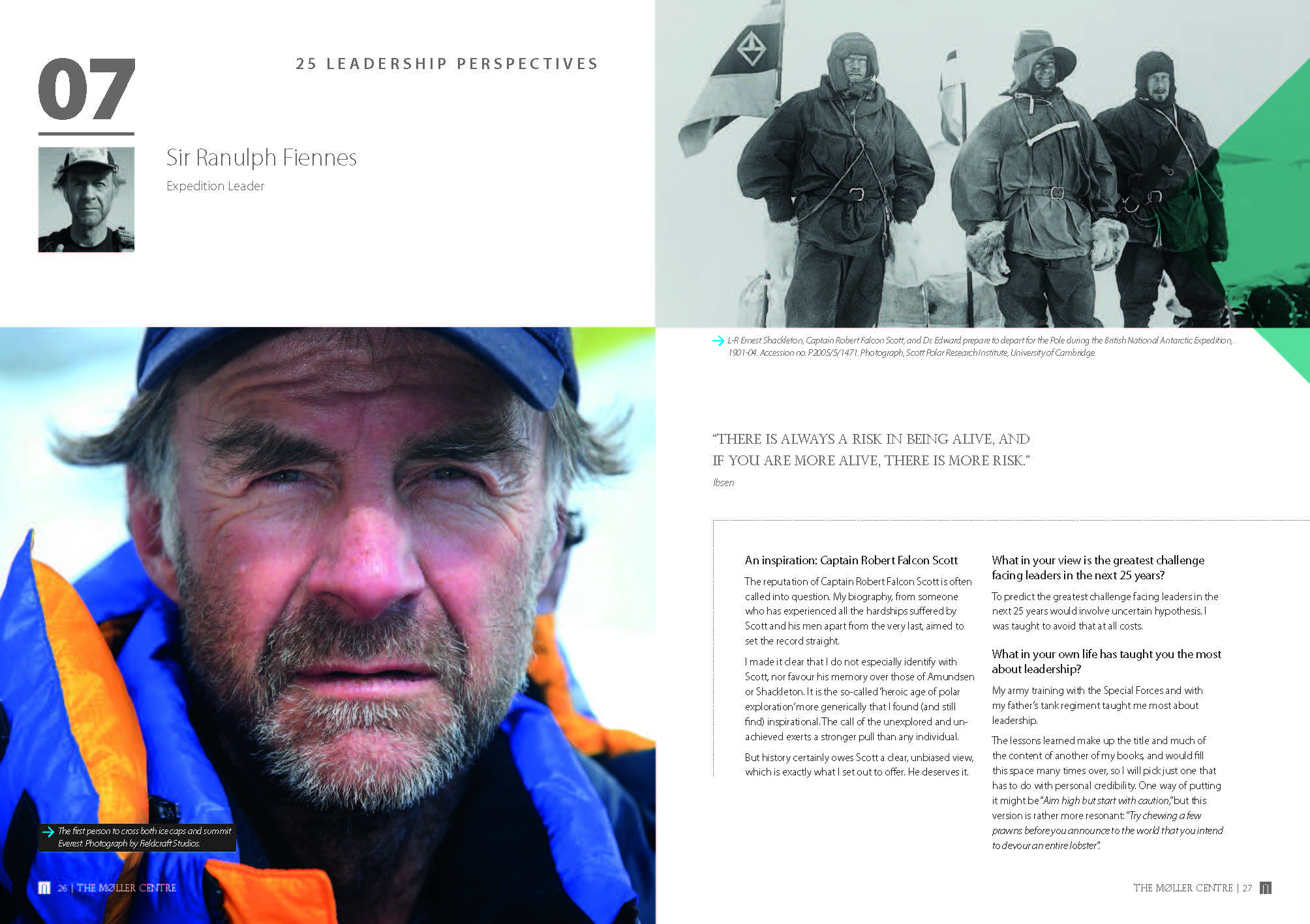 Picture of Ranulph Fiennes Moller