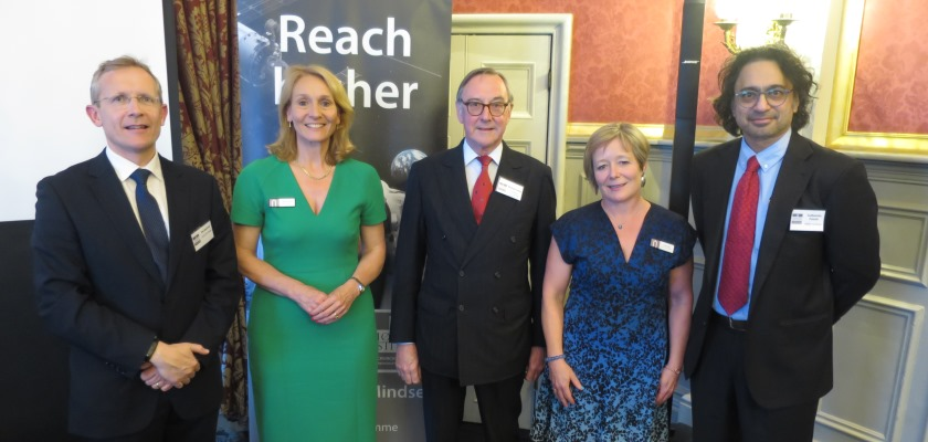 Picture of Moller and Churchill College Alumni event
